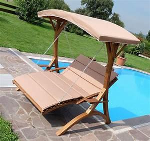 Matratze Garten Wetterfest : gartenbett mit dach ~ Indierocktalk.com Haus und Dekorationen