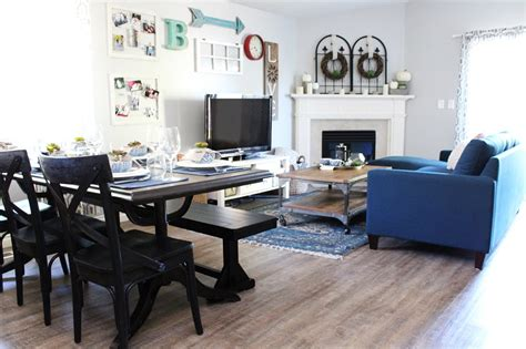 secrets  styling  small living room dining room combo
