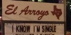 This Restaurant Sign Knows Why You U0026 39 Re Still Single