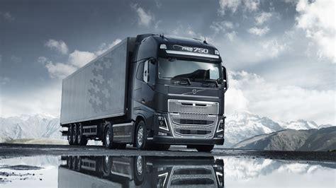wallpaper snow trucks transport truck lorry volvo