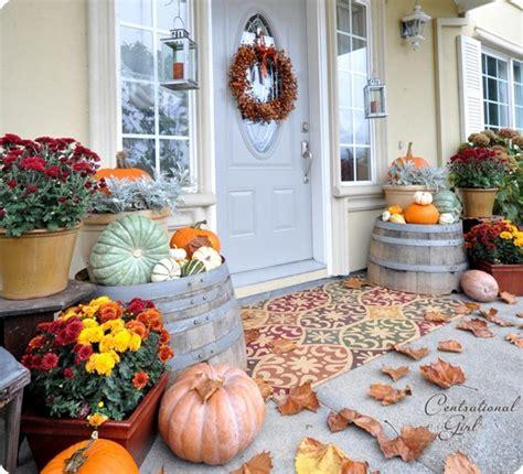 harvest porch decorating ideas harvest porch centsational girl