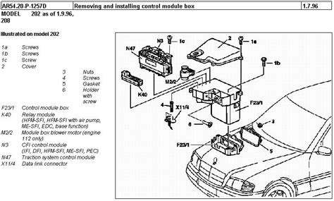 1999 C280 Wiring Diagram by Mercedes C Class Questions I A 1994 Mercedes