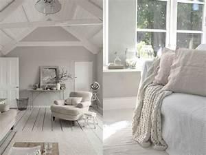 20 inspirations pour un salon aux couleurs naturelles With conseil pour peindre un mur 13 chambre taupe et couleur lin idees deco ambiance zen