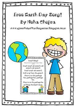 preschool earth day songs spoonfuls of kindergarten recycling sorting mats 827