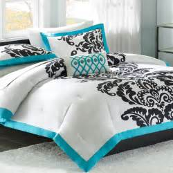 mizone florentine full queen comforter set teal free shipping