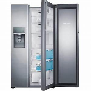 Side By Side Design : samsung 21 5 cu ft side by side refrigerator in stainless steel counter depth food showcase ~ Bigdaddyawards.com Haus und Dekorationen
