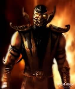 Mortal Kombat 9 Scorpion