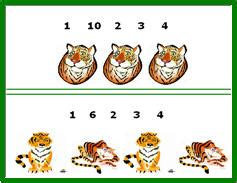 jungle animals kids learning games lessons  printable