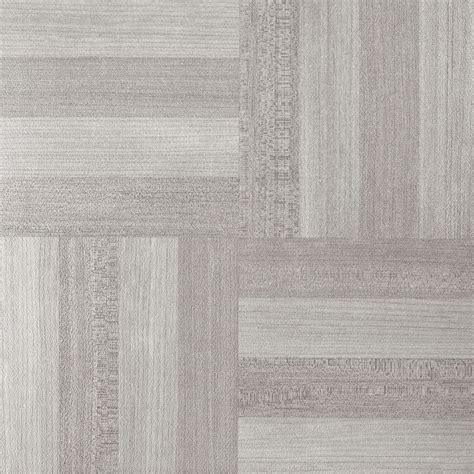 Ash Gray Wood Woodtone  Stick Adhesive Vinyl Floor