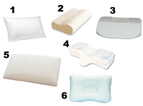 types of pillows my opinion on 6 types of sleeping pillows check the neck