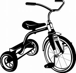 Tricycle   Free Stock Photo   Illustration of a tricycle ...