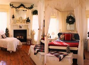 30 christmas bedroom decorations ideas With pictures of decorated rooms for ideas