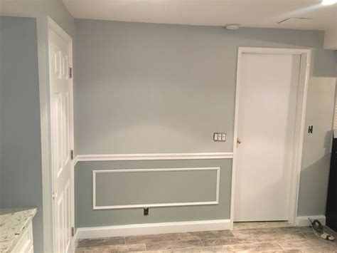 walls benjamin moore  arctic gray top