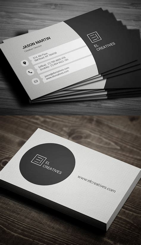 modern business card templates print ready design