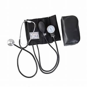 Manual Blood Pressure Monitor Arm Aneroid Sphygmomanometer