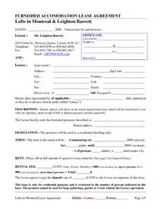 Free Printable Rental Agreement Blank Forms