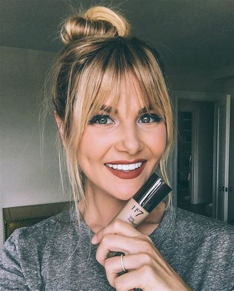 20 Different Types Of Bangs To Flatter And Frame Your Face