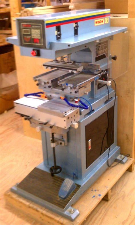 color pad winon 2 color pad printer