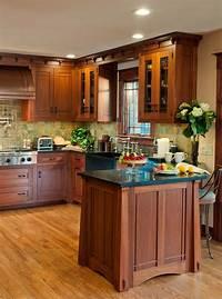craftsman style kitchen Wood Shavings » Craftsman