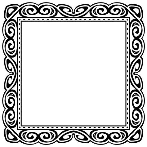 Picture Frame Clipart Black Frame Clipart Clip Net