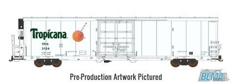 box auto dwg reefer boxcar tropicana tpix 64 reefer