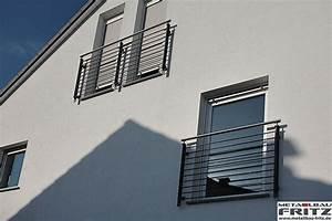 Franzsischer Balkon 13 02 Metallbau Fritz
