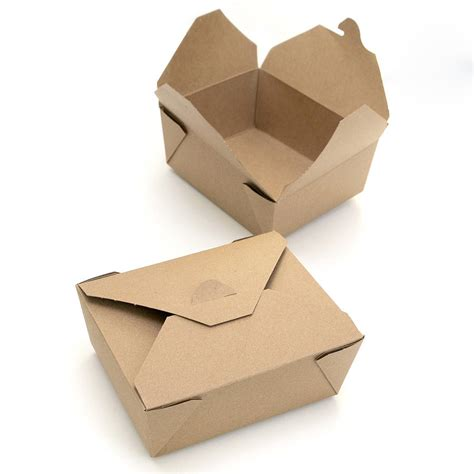 box cuisine kraft brown food boxes by blossom