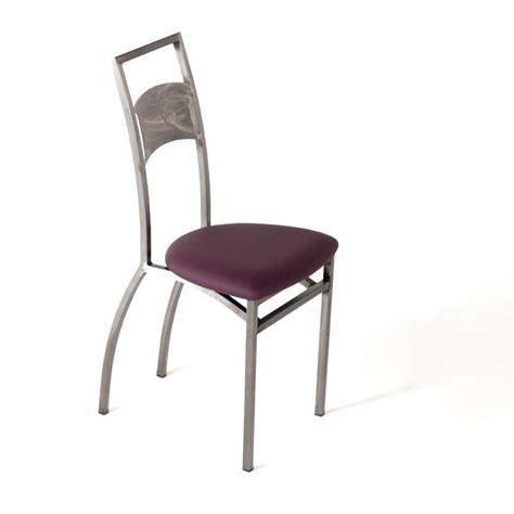 chaise de cuisine moderne chaise de cuisine liane loft industrie 4 pieds tables