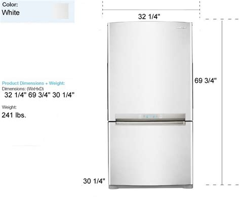 Glass Door Refrigerator Freezer For Home Samsung Refrigerators 21 Cu Ft Full Size Refrigerator White Rb215abwp Shopperschoice Com
