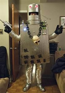 U0026quot, How, To, Drink, And, Still, Wear, A, Mask, U0026quot, Geekologie, Reader, U0026, 39, S, Killer, Robot, Costume