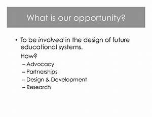 The significant opportunities and challenges that learners ...