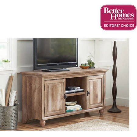 home and garden tv better homes and gardens crossmill collection tv stand