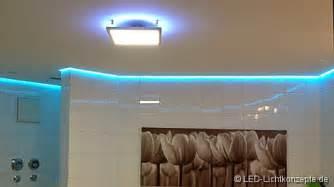 badezimmer led leuchten badezimmer beleuchtung planen