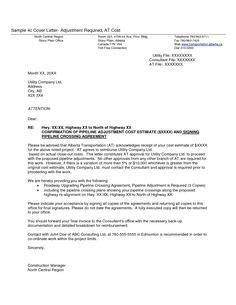 Government Of Canada Cover Letter by Covering Letter For Giving Quotation For