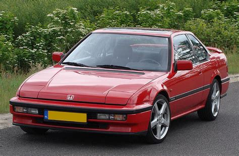 Honda Prelude 4ws 1990 G3 Front View Red