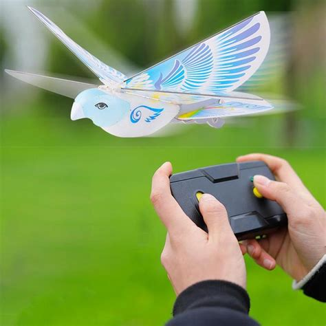 birde bird flying birds electronic mini rc drone switch control helicopter toy  degree