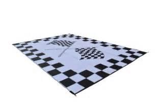 rv patio mat awning mat outdoor rug trailer mat complete kit 9x18 finish line flags