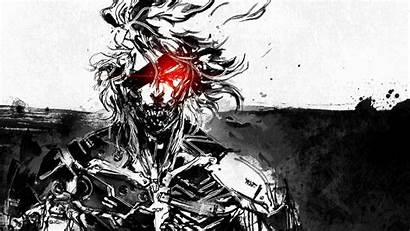 Gear Raiden Metal Rising Solid Revengeance Artwork