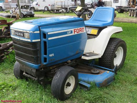 ford lawn tractor operators tractordatacom ford lgt