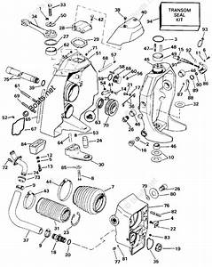 Omc Sterndrive Parts 5 80 Liter Oem Parts Diagram For