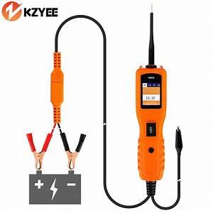 Auto 12v Voltage Car Electric Circuit Tester Automotive Tools Km10 Power Probe Same As Pt150
