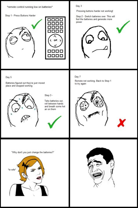 Meme Face Comics - remote control funny meme funny memes and pics