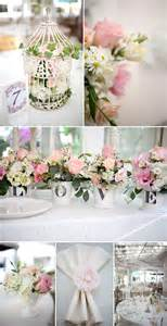 shabby chic wedding flower ideas shabby chic garden wedding