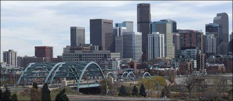 Denver Skyline   Downtown Denver, with the Platte River ...