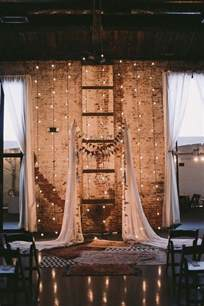 rustic wedding backdrops 30 rustic industrial wedding ceremony decor ideas deer pearl flowers