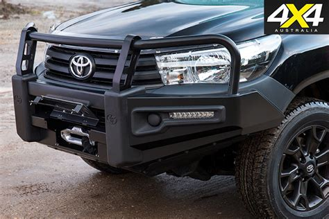 toyota reveals genuine accessories for new hilux 4x4