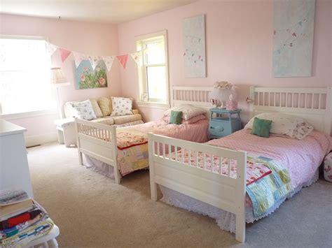 shabby chic bedroom  twin girls avas shabby chic