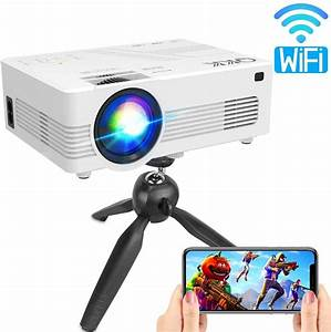 Reviews Qkk Upgraded 4500lumens Wifi Projector  Full Hd
