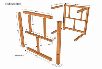 Router Table Plans Printer Drawing Frame Assembly