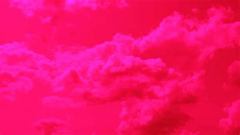 The Pink Cloud Background Stock Footage Video 4310450